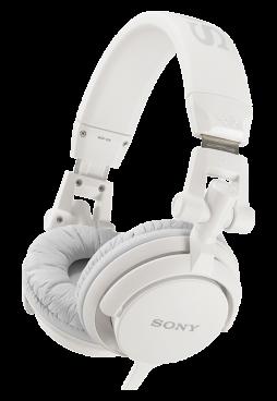Накладные наушники Sony MDR-V55 W – купить по цене 3990 в официальном  интернет-магазине Sony e1fe914950cc8