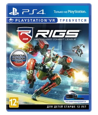 Игра для VR Sony RIGS: Mechanized Combat League (только для VR) [PS4, русская версия] фото 1