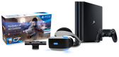 PlayStation 4 Pro + PlayStation VR  + камера PlayStation + игра Farpoint/Aim Controller