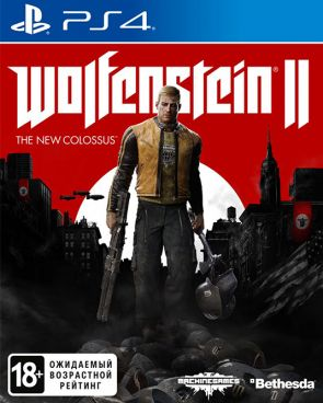 Игра для PS4 Wolfenstein II: The New Colossus [PS4, русская версия] фото 1