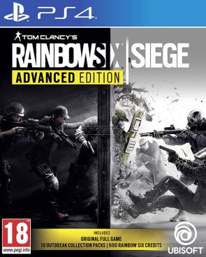 Игра для PS4 Tom Clancy's Rainbow Six: Осада. Advanced Edition [PS4, русская версия] фото 1