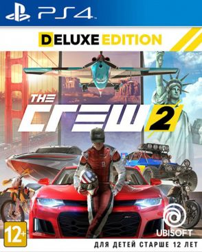 Игра для PS4 The Crew 2. Deluxe Edition [PS4, русская версия] фото 1