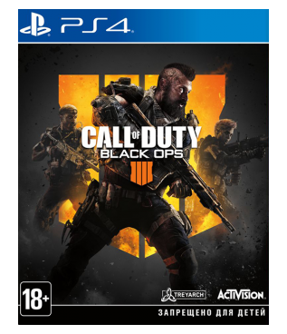 Игра для PS4 Call of Duty: Black Ops 4 [PS4, русская версия] фото 1
