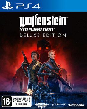 Игра для PS4 Wolfenstein: Youngblood. Deluxe Edition [PS4, русская версия] фото 1