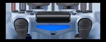 PlayStation DUALSHOCK 4 V2 Титановый синий