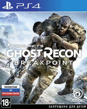 Игра для PS4 Tom Clancy's Ghost Recon: Breakpoint [PS4, русская версия] фото 1